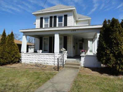 Single Family Home For Sale: 105 N McKinley Street