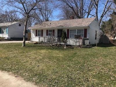 Michigan City Single Family Home For Sale: 2517 Buffalo Street