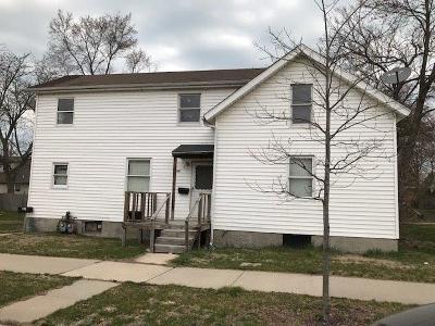 Michigan City Multi Family Home For Sale: 510 E 10th Street