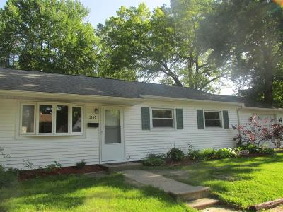 Michigan City Single Family Home For Sale: 2109 Pear Street