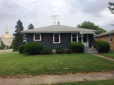 Hammond IN Single Family Home For Sale: $113,500