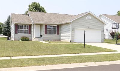 Westville Single Family Home For Sale: 601 Luke Drive
