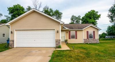 Westville Single Family Home For Sale: 606 Alan John Drive