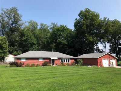 La Porte, Laporte Single Family Home For Sale: 989 S Holmesville Road