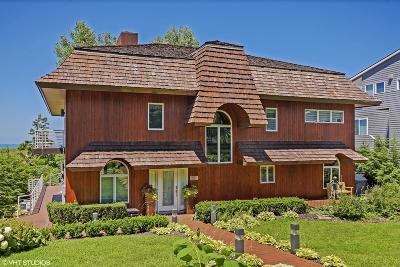 Michigan City Single Family Home For Sale: 1622 Lake Shore Drive