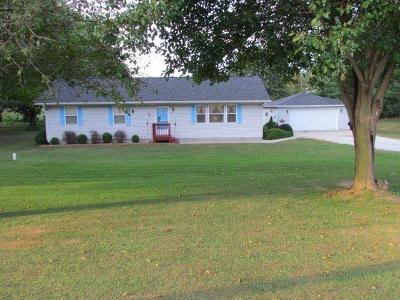 La Porte, Laporte Single Family Home For Sale: 4303 W 150 N