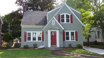La Porte, Laporte Single Family Home For Sale: 107 Rose Street