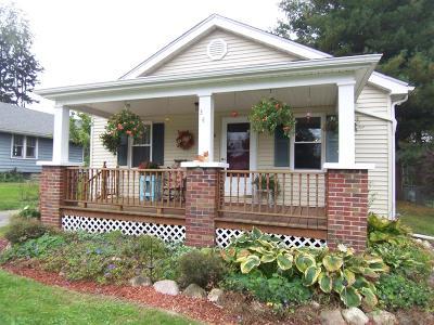 La Porte, Laporte Single Family Home For Sale: 340 W Johnson Road