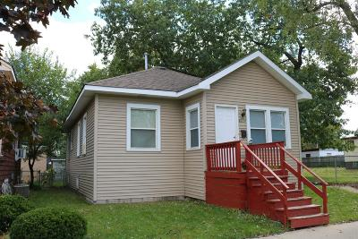 Hammond IN Single Family Home For Sale: $73,900