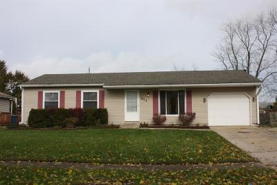 Lowell Single Family Home For Sale: 652 Apache Lane