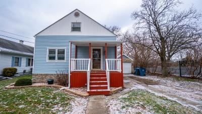 Schererville IN Single Family Home For Sale: $190,000