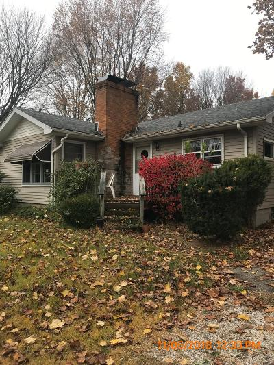Michigan City Single Family Home For Sale: 5818 Warnke Road