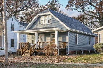 Michigan City Single Family Home For Sale: 554 Holliday Street