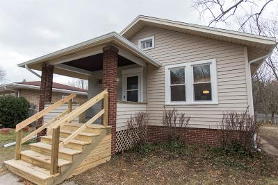 Michigan City Single Family Home For Sale: 801 N Woodland Avenue