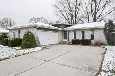 Schererville IN Single Family Home For Sale: $209,900