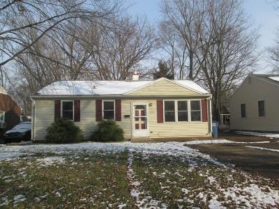 Michigan City Single Family Home For Sale: 2414 Manhattan Street