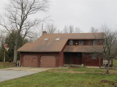 Single Family Home For Sale: 1190 W Bunkum Road