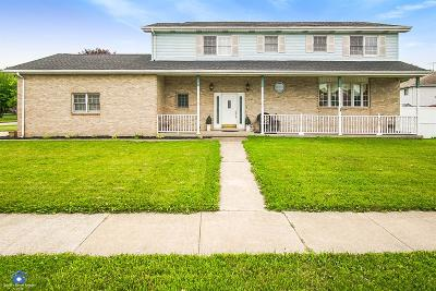 Schererville Single Family Home For Sale: 1237 Woodhollow Drive