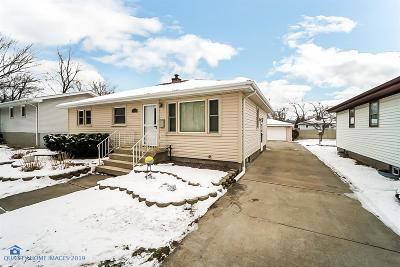 Lansing Single Family Home For Sale: 18507 Oak Avenue
