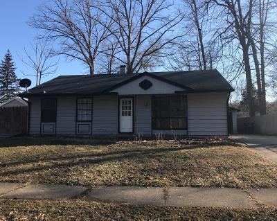 Michigan City Single Family Home For Sale: 3211 Springland Avenue