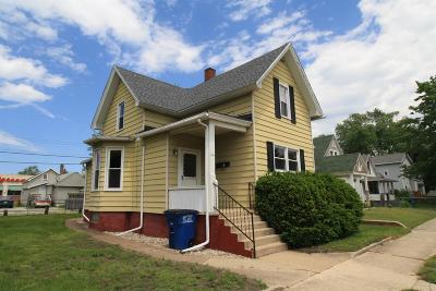 Michigan City Multi Family Home For Sale: 114 E Fulton Street