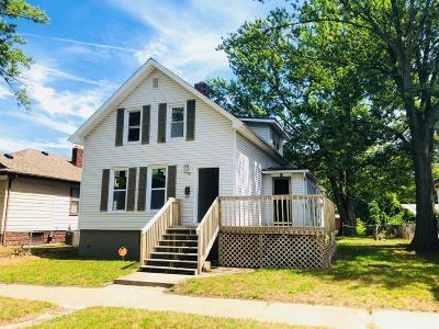 Michigan City Single Family Home For Sale: 208 McClelland Avenue