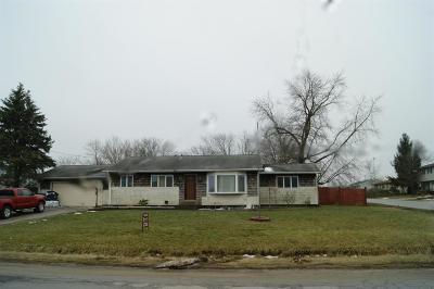 Michigan City Single Family Home For Sale: 8244 W Pahs Road