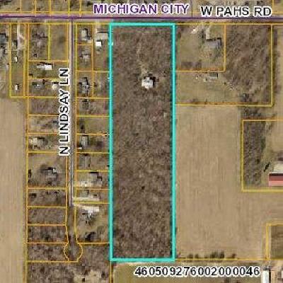Michigan City Farm For Sale: 9212 W Pahs Road