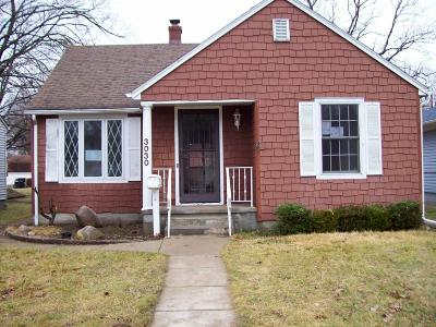 Michigan City Single Family Home For Sale: 3030 Cleveland Avenue