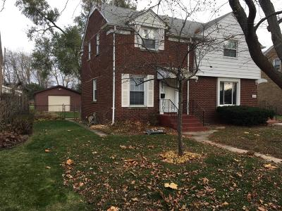 Single Family Home For Sale: 8231 Highland Place
