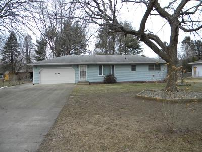 Michigan City Single Family Home For Sale: 7193 W Bleck Road