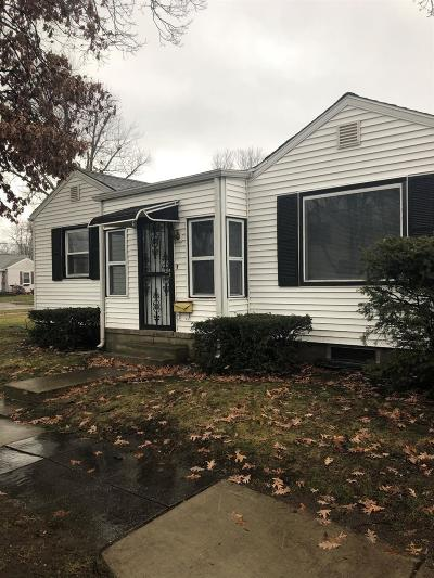 Michigan City Single Family Home For Sale: 2904 Cleveland Avenue