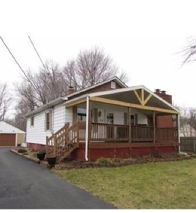 Michigan City Single Family Home For Sale: 1708 E Coolspring Avenue