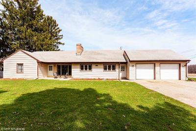 La Porte, Laporte Single Family Home For Sale: 1491 Indiana 4