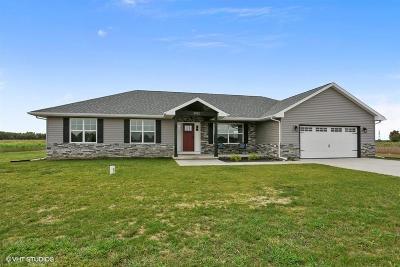 Laporte, La Porte Single Family Home For Sale: 3982 S Scipio Drive
