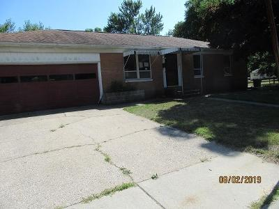 Michigan City Single Family Home For Sale: 1103 Walker Street