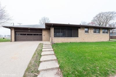 Michigan City Single Family Home For Sale: 701 Tilden Avenue