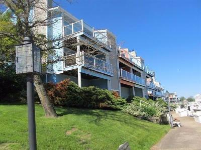 Michigan City Condo For Sale: 50 Marine Drive