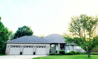 Michigan City Single Family Home For Sale: 7652 W Peach Tree Lane