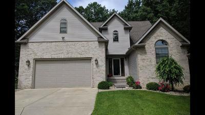 La Porte, Laporte Single Family Home For Sale: 3828 N Malaga Drive W