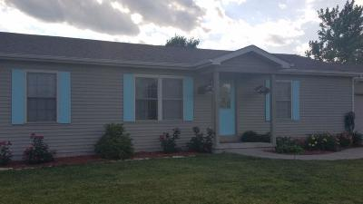 Single Family Home For Sale: 12676 N 100 E