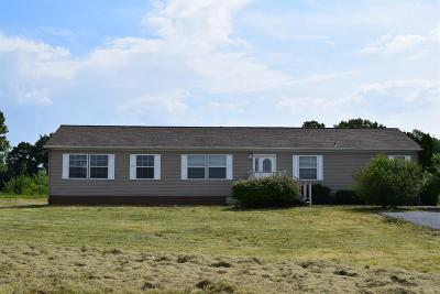 La Porte, Laporte Single Family Home For Sale: 3837 N 100 W