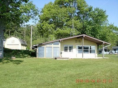 Steuben County Single Family Home For Sale: 140 Lane 650 Ca Snow Lake