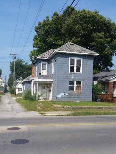 Marion Multi Family Home For Sale: 112 S Nebraska Street