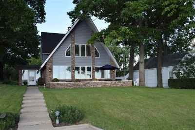 Syracuse Single Family Home For Sale: 12021 N Ogden Point Rd #Pier 16