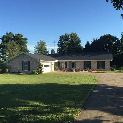 Spencer County Single Family Home For Sale: 8749 E County Road 1100 N
