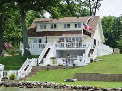 Steuben County Single Family Home For Sale: 700 Lane 150 Hamilton Lk
