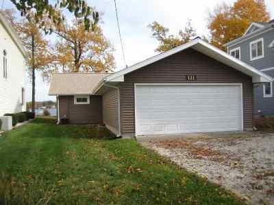 Kosciusko County Single Family Home For Sale: 11524 N Sunrise #Pier 121