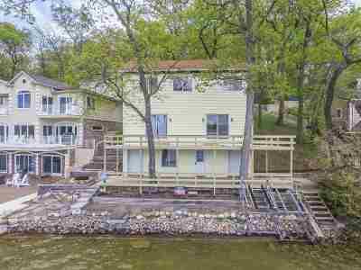 Steuben County Single Family Home For Sale: 500 Ln 105 Lake James