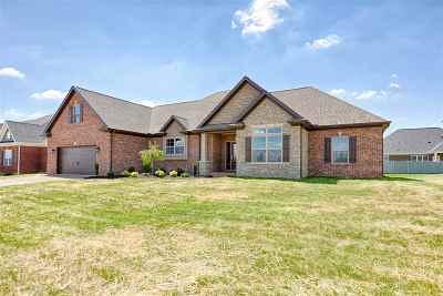 Evansville Single Family Home For Sale: 7917 Bingham Drive